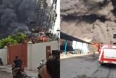 Pabrik Spring Bed di Sei Semayang Sunggal Terbakar