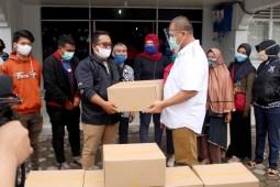 Dampak Covid-19, 3.000 Paket Sembako kepada Pekerja Disalurkan