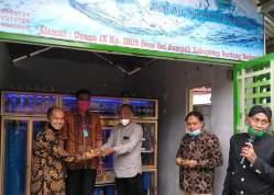 LPPM Unimed Suguhkan BKM Mesin Depot Air Minum dan Mesin Pencuci Tangan Berjalan