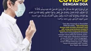 Infografis: Melawan Covid-19 dengan Doa