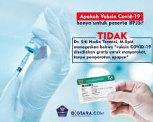 Infografis: Vaksin Covid Tidak Hanya Untuk Peserta BPJS