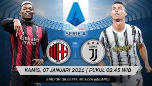 Jadwal Pertandingan Liga Italia: Super Big Match AC Milan Vs Juventus