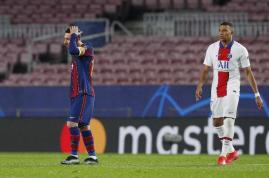 Barcelona Dibantai PSG, Kylian Mbappe Cetak Hattrick