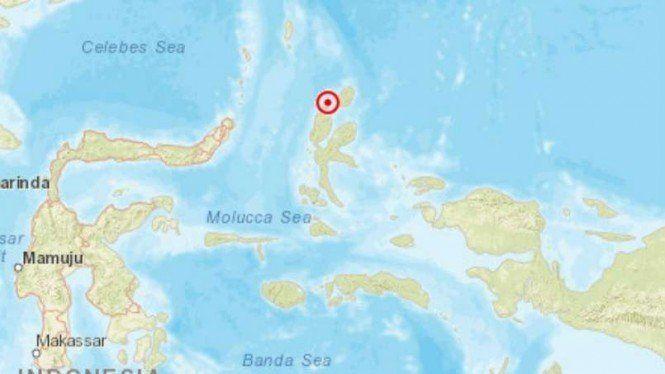 Halmahera Diguncang Gempa Magnitudo 5,2