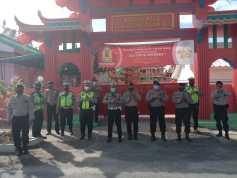 Peringatan Imlek, 130 Personil Polresta Deli Serdang Disiagakan