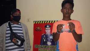 Pengedar Sabu Desa Sei Buluh Digrebek Polisi
