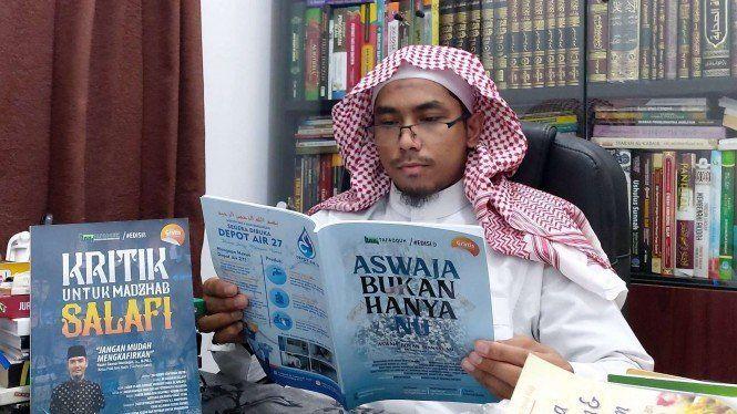 Innalillahi Wainna Ilaihi Rojiun, Ustaz Maaher at Thuwailibi Wafat di Rutan Mabes Polri