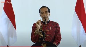 Presiden Jokowi Jadi Saksi Insan Pers Disuntik Vaksin Covid-19