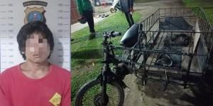 Satu dari Tiga Pelaku Curas di Sergai Ditangkap Polsek Tebingtinggi