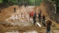 Pembukaan Akses Jalan Dua Desa di Nias Diharap Bisa Tingkatkan Perekonomian
