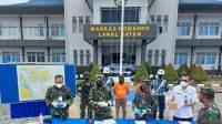 Dua Kurir Selundupkan Narkoba dari Malaysia Digagalkan