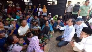 Presiden Jokowi Perintahkan Relokasi Warga Terdampak Banjir Bandang Lembata