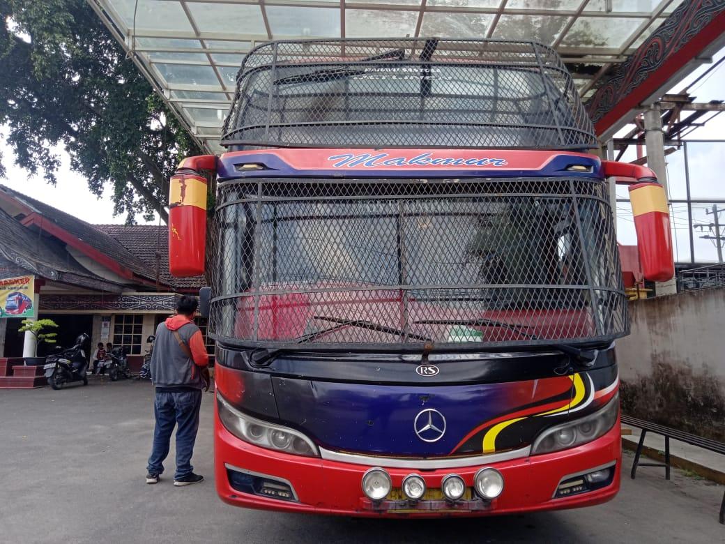 Larangan Mudik, Bus Antar Provinsi Berhenti Beroperasi Ribuan Sopir Bus di Medan