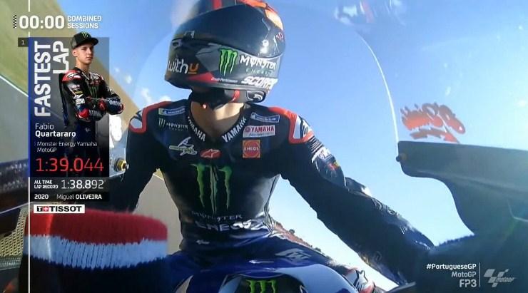 Kualifikasi MotoGP Portugal: Bagnaia Tercepat, Quartararo Raih Pole