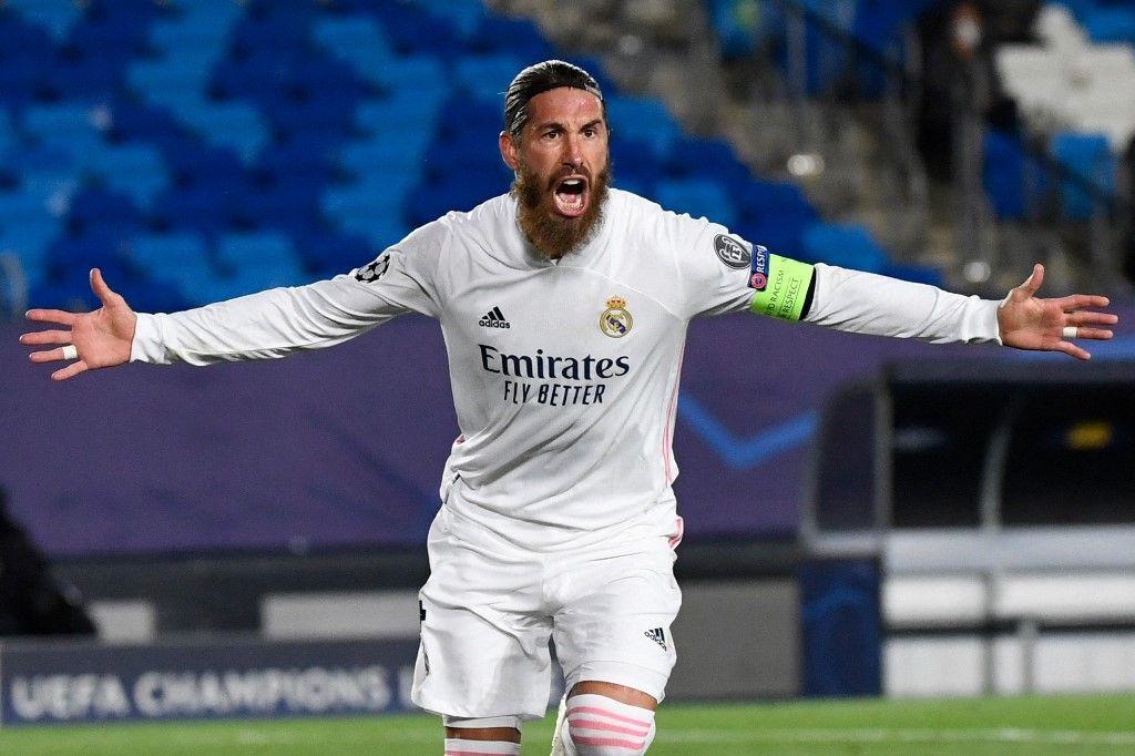 Cedera, Kapten Real Madrid Sergio Ramos Positif Covid-19