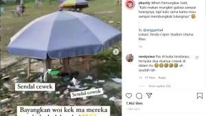 Viral! Video Tenda Ceper di Pekanbaru, Diduga Dijadikan Tempat Mesum