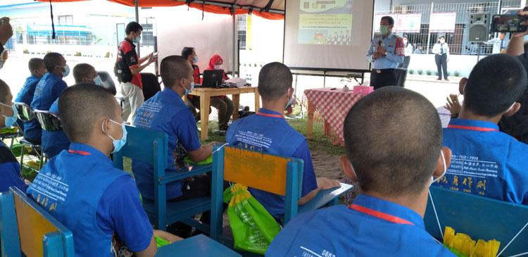 Bantu Pendidikan Bagi Tahanan Anak, Lapas Tanjung Gusta Bangun Sekolah NKRI