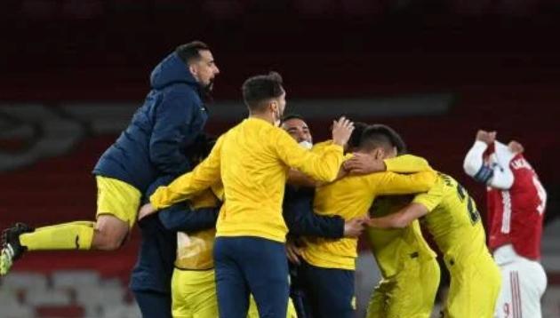 Villarreal All English Final Arsenal