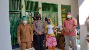 Kapolsek Tebingtinggi Tinjau Vaksinasi di Puskesmas Tebing Syahbandar