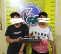 Lagi Nyantai, Dua Pengedar Diciduk dari Kamar Kos di Padangsidimpuan