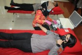 Sambut HUT Bhayangkara ke-75, Polres Pematangsiantar Lakukan Donor Darah