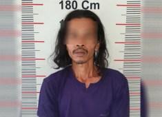 Dikibusi Warga, Bandar Narkoba Asal Pangkalansusu Ditangkap Polisi