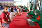 Antisipasi Covid-19, Biddokkes Polda NTT Gelar Vaksinasi Massal di Dua Lokasi di Kota Kupang