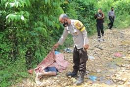 Warga Labuhan Rasoki Padangsidimpuan Temukan Mayat di Pinggir Sungai