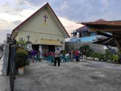 Tawuran di Belawan, Bangunan Gereja Dilempari Molotov Hingga Gas Air Mata