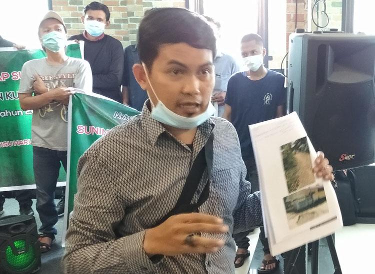 Kejatisu Diminta Tangkap Kades Besilam BL Terkait Dugaan Penyelewengan Dana Desa