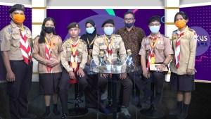 Peserta LPK Kwarda Sumut Kunjungi Kantor Media digtara.com
