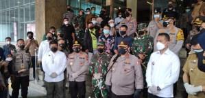 Tinjau PPKM Kota Medan, Wakapolri: Solidaritas Masyarakat Cukup Tinggi
