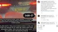 Viral, Mobil Pelat Dinas PolriTancap Gas Lawan Arus Usai Tabrak Pengendara