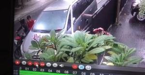 Lagi, Pencurian Spion Mobil Terekam CCTV