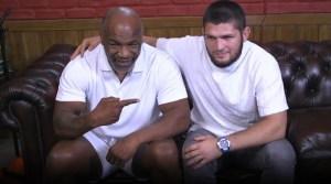 Khabib Sambangi Mike Tyson, 'Assalamualaikum'