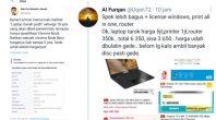 Pengadaan Laptop Kemendikbud, Netizen: Spek Cuma 5 Jutaan, Dibuat Harga Rp10 Juta