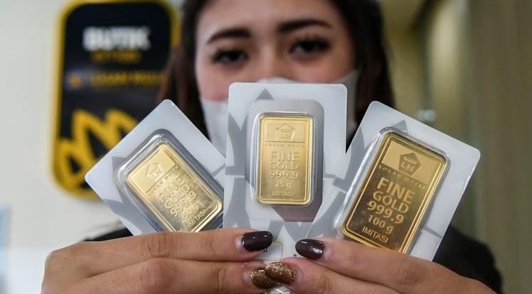 Selasa 14 September 2021 harga emas antam pegadaian