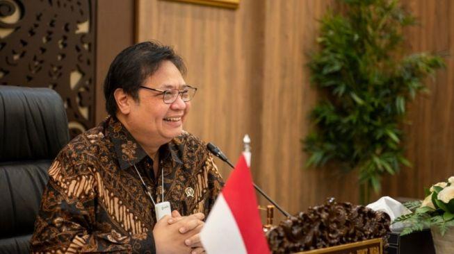 Penanganan Covid-19 di Indonesia, Menko Perekonomian Airlangga Klaim Lebih Baik dari Negara Lain