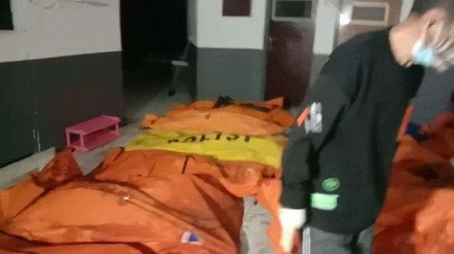 72 Korban Kebakaran Lapas Tangerang Dilarikan ke Poliklinik