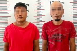 Dua Pelaku Pencurian Ditangkap Polsek Pangkalan Susu, Kerugian Capai 32 Juta