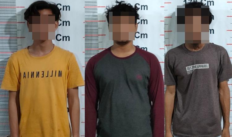 Sempat Buang BB, Tiga Pelaku Narkoba di Langkat Ditangkap Polisi