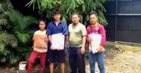 Peduli di Tengah Pandemi, Imran Sah Ritonga Bantu Seragam Sekolah ke Sejumlah Anak Yatim di Padangsidimpuan