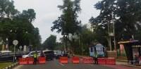 Jokowi ke Medan, Ruas Jalan Ini Ditutup Sementara