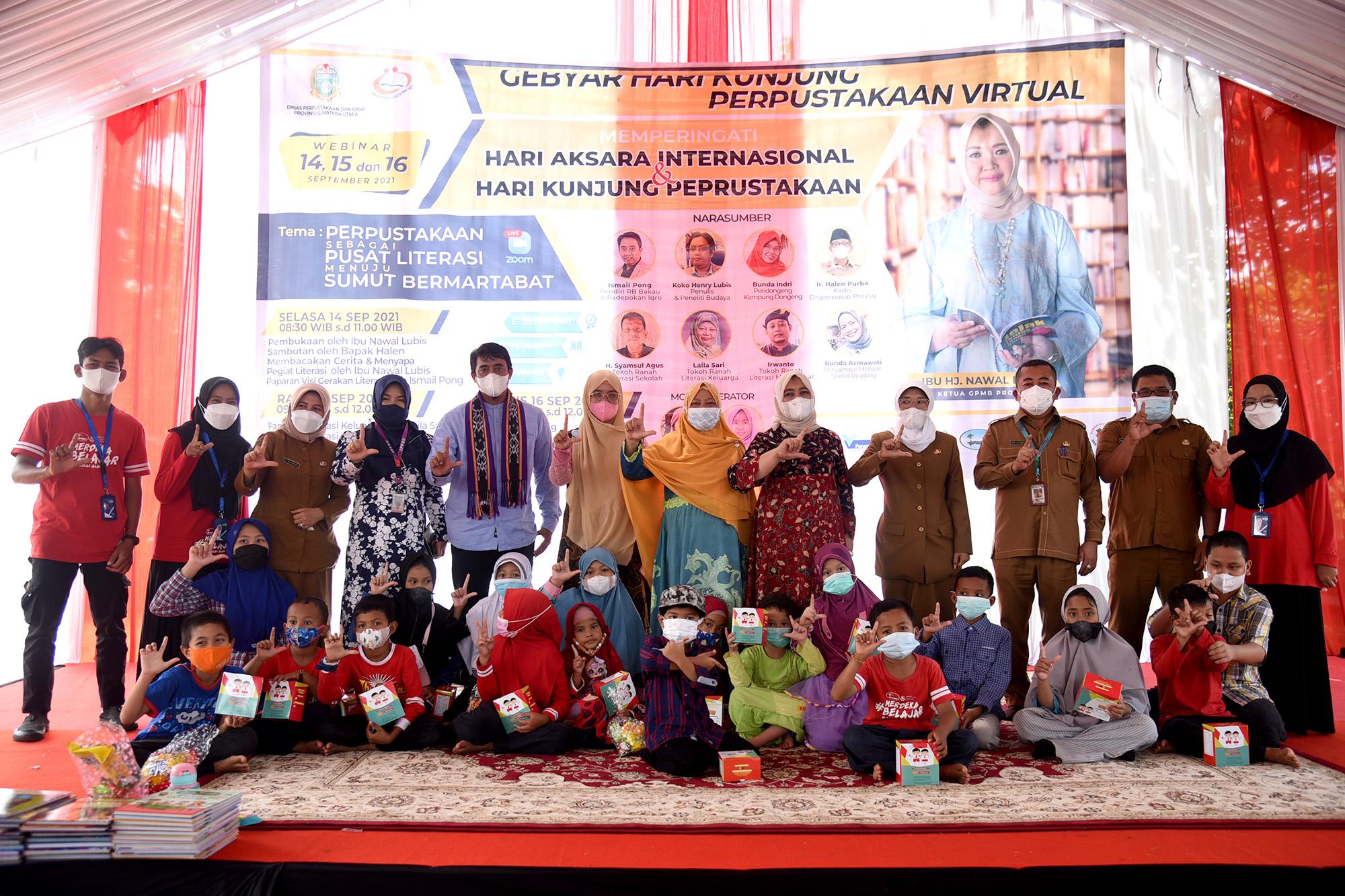 Dongkrak Minat Baca Masyarakat Sumut, GPMB Dapat Dibentuk di Seluruh Kabupaten Kota