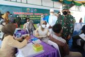 Pangdam I/BB Tinjau Pelaksanaan Vaksinasi Bagi Mahasiswa UMSU