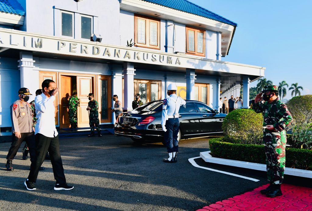 presiden jokowi kunjungi aceh dan sumatera utara