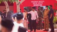 Presiden Jokowi Harapkan Vaksinasi di Ponpes Segera Tuntas