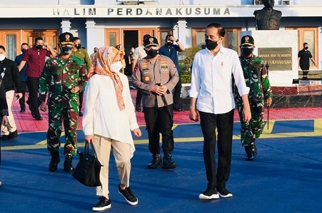Sudah Lama Tak Begini, Iriana Temani Presiden Jokowi Kunker ke Sulsel