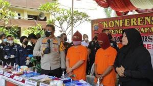 Ungkap Peredaran Heroin Jaringan Internasional, Polisi Amankan 3,1 Kg Heroin