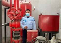Optimalkan Proteksi Kebakaran, Lapas Binjai Gandeng BPBD